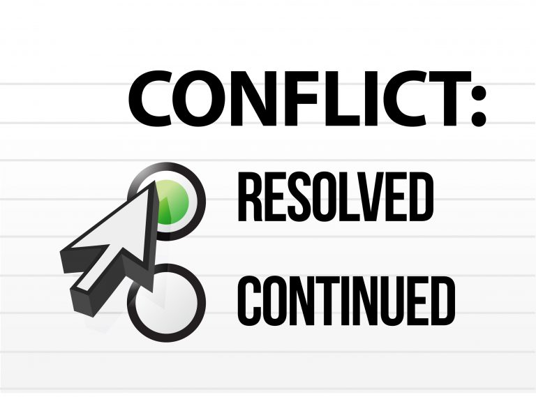 Conflict Avoidance: Get Over It
